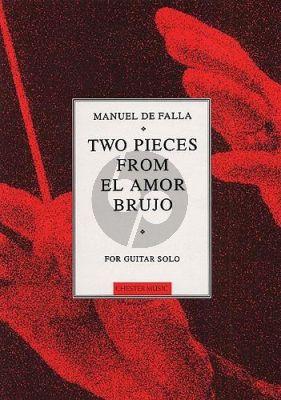 Falla 2 Pieces from El Amor Brujo for Guitar