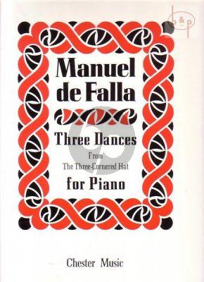 3 Dances Piano solo