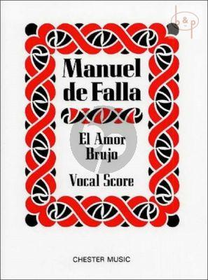 El Amor Brujo Vocal Score