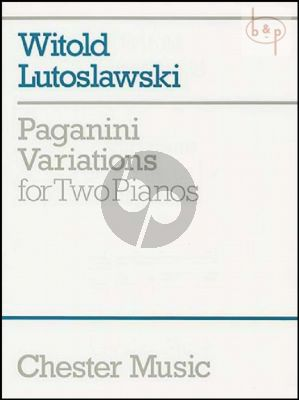 Paganini Variations 2 Piano's