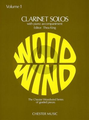 Clarinet Solos Vol. 1 (edited by Thea King)