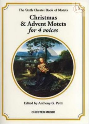 Chester Book of Motets Vol.6 Christmas and Advent Motets