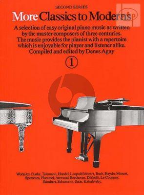 More Classics to Moderns Vol.1