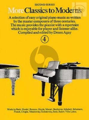 More Classics to Moderns Vol.4