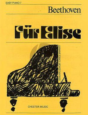 Fur Elise Easy Piano