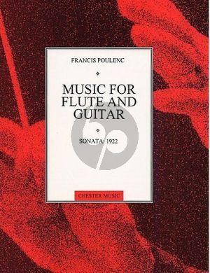 Poulenc Sonata (1922) Flute-Guitar (orig. Sonata Horn-Trump.-Tromb.) (arr.Gregg Nestor)