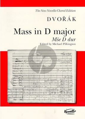 Mass D-major Op.86 SATB soli-SATB-Orch.[Organ] Vocal Score