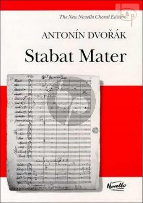 Stabat Mater Op.58 Soli-Choir-Orchestra Vocal Score (lat.)