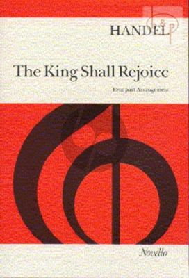 King shall Rejoice (Coronation of King George II and Queen Caroline)