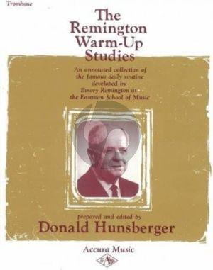 Hunsberger The Remington Warm Up Studies for Trombone
