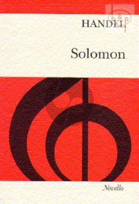 Solomon HWV 67 (Oratorio 3 Acts)