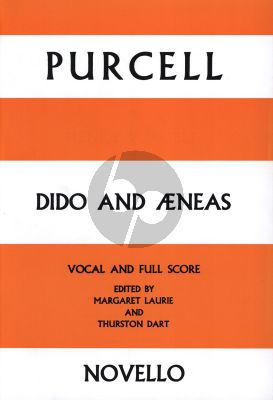 Purcell Dido & Aeneas Vocal- and Full Score (edited by Thurston Dart)