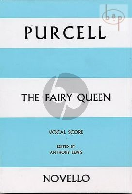 The Fairy Queen (5 Soloists-Orch.) (Vocal Score)