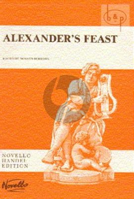 Alexander Feast HWV 75 (Soli-Choir-Orch.) (Vocal Score)