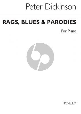 Dickinson Rags-Blues and Parodies Piano solo