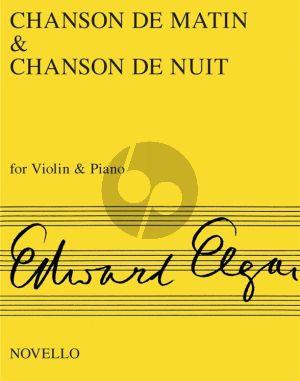 Elgar Chanson de Matin & Chanson de Nuit Op.15 Violin-Piano