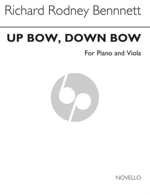 Bennett Up Bow Down Bow Viola and Piano