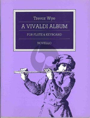 Vivaldi Album Flute-Piano (Trevor Wye) (Grade 3-5)