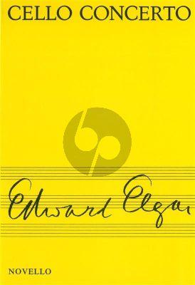 Elgar Concerto Cello and Orchestra Study Score