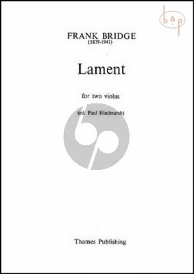 Lament for 2 Violas