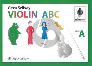 Szilvay Violin ABC Book A (Colour Strings)