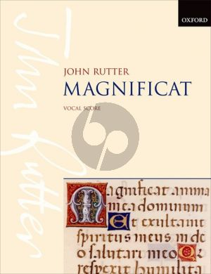 Rutter Magnificat Soprano or Mezzo-Soprano Solo, Mixed Choir-Orchestra[Chamber Ensemble] Vocal Score