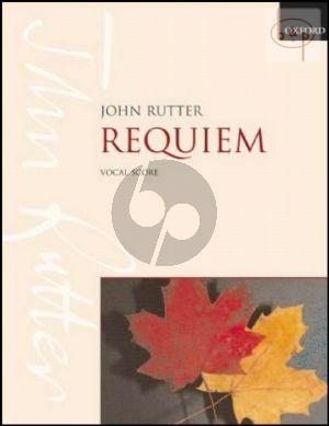 Requiem Soprano soloist-SATB-Orchestra/Ensemble Vocal Score