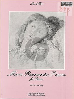 More Romantic Pieces Vol. 3 Piano solo (compiled and edited by Lionel Salter) (interm.level)