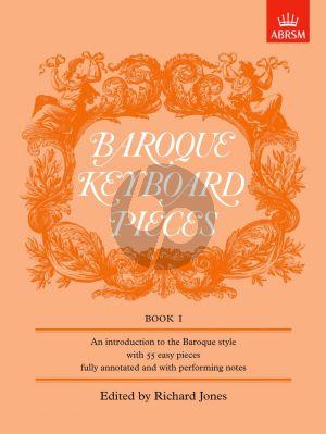 Baroque Keyboard Pieces Vol. 1 (Richard Jones) (Easy)