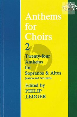 Anthems for Choirs Vol.2 (24 Anthems