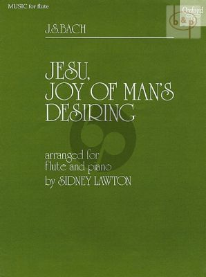 Jesu Joy of Man's Desiring Flute and Piano