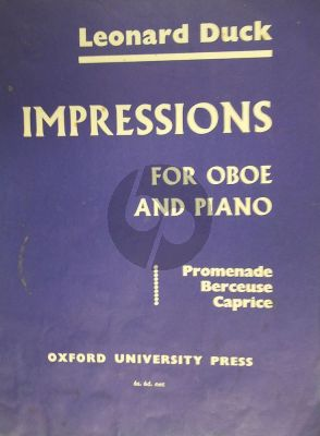 Duck Impressions for Oboe and Piano