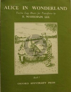 Alice in Wonderland Vol.1 Piano 4 hds