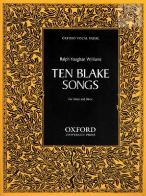 10 Blake Songs Voice and Oboe