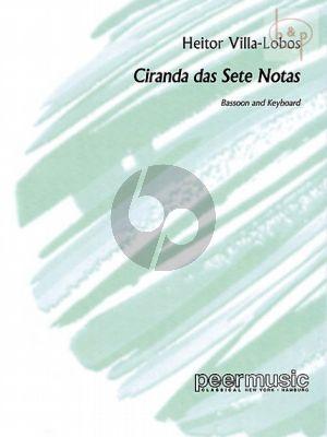 Ciranda das Sete Notas Fagott-Klavier