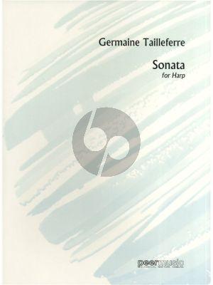 Tailleferre Sonate Harp