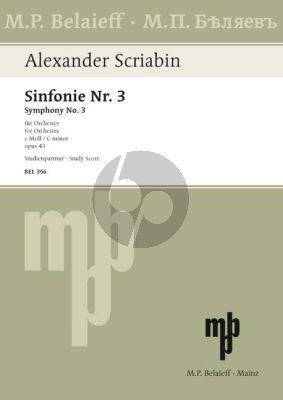 """Symphony No. 3 c-minor Op. 43 """"Le Divin Poeme"""""""