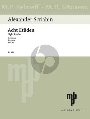 Scriabin 8 Etuden Op. 42 Klavier