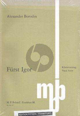Fürst Igor Vocal Score