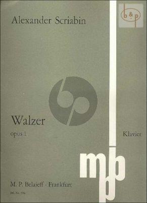 Waltz Op.1 f-minor
