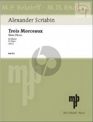 3 Morceaux Op.2