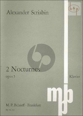 2 Nocturnes Op.5