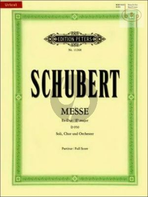 Messe Es-dur D.950 (Soli-Choir-Orch.) (Vocal Score)