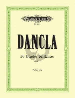 Dancla 20 Etudes Brillantes Op.73 Viollin