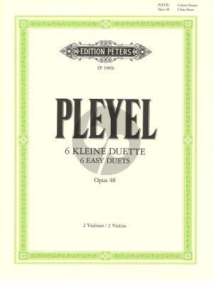 6 Easy Duets (Sonatinas) Op.48 (Herrmann) (Grade 3-4) (Peters)