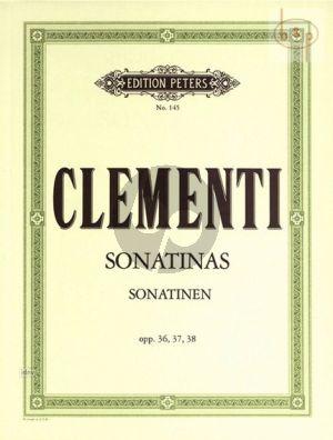 Sonatinas Op.36 - 37 - 38 Piano solo