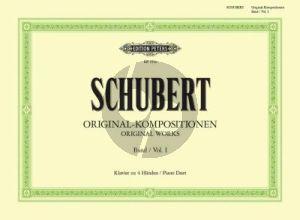 Original Kompositionen Vol.1 Klavier 4 Hd