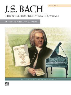 Bach Wohltemperiertes Klavier Vol.1 Piano (Edited by Willard A. Palmer) (Spiral Bound)