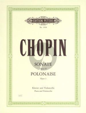 Sonate Op.65 -  Polonaise Brillante Op.3