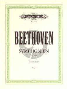 Beethoven Symphonien Vol.2 (No.6-9) Piano solo (Otto Singer)